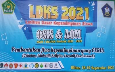 LDKS OSIS & AOM MAN  1 BLITAR PERIODE 2021-2022